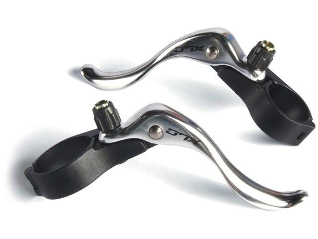 XLC Cross BL-R02 Zusatzbremshebel Set schwarz/silber
